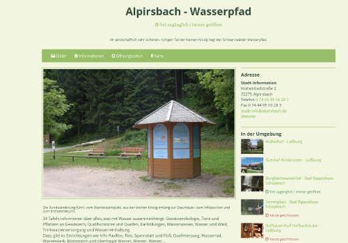 Alpirsbacher-Wasserpfad