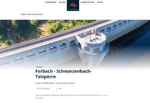 Forbach-Schwarzenbach-Talsperre