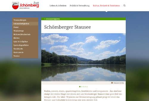 Schnoemberg-Stausee